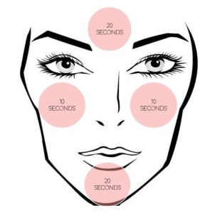 Clarisonic Recommend Cleansing Pattern