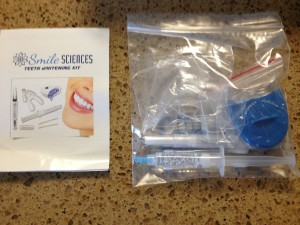 Smile Sciences Review Packaging Inside