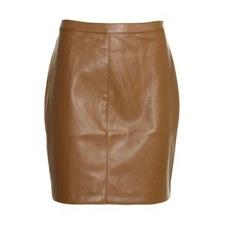 Reiss Bonita Faux Leather Skirt
