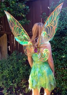 Best adult halloween costumes and makeup ideas to try on day by for your costume you can actually purchase a fairy dress your wings and sandals as they are usually available at stores however you can also improvise solutioingenieria Image collections