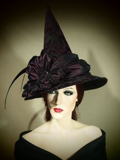 A fantastic witch costume would never be complete without a wicked hat. You can make a simple witch hat very fashionable and embellish it with black velvet ...  sc 1 st  Day by Day Beauty Blog & Best Adult Halloween Costumes and Makeup Ideas To Try On | Day by ...