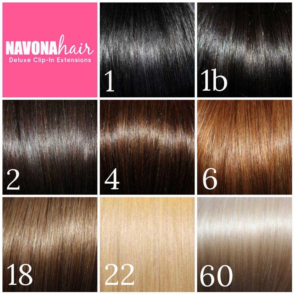 Day by Day Beauty - Hair Extension Colors